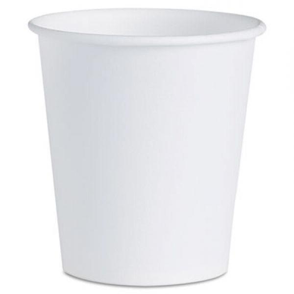 Solo Cup Company White Paper Water Cups, 3 oz, 5000 Cups
