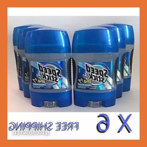Speed Stick Gel 24/7 A/P Deodorant Fresh Rush 3 Oz.