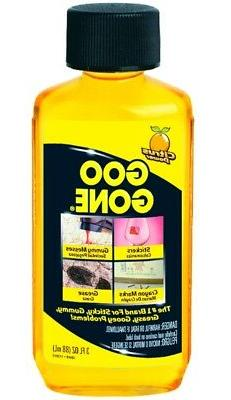 GOO GONE Adhesive Sticky REMOVER Remove gooey label Sticker