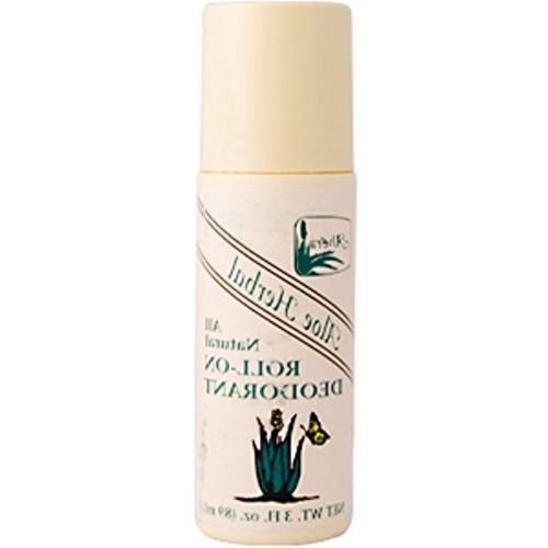 aloe herbal all natural roll on deodorant