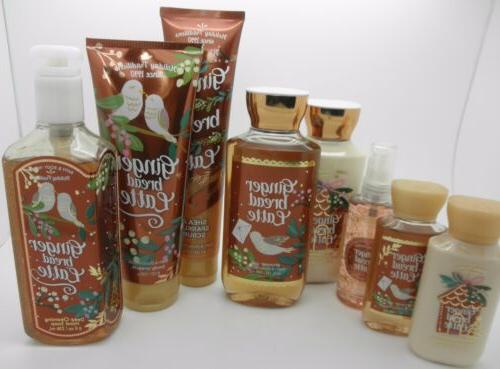 BATH & BODY WORKS Gingerbread Latte - Choose Your Favorite