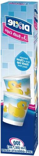 Dixie Bath Cups - 3 oz - 100 ct