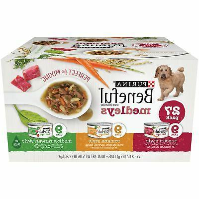 beneful medleys variety dog food