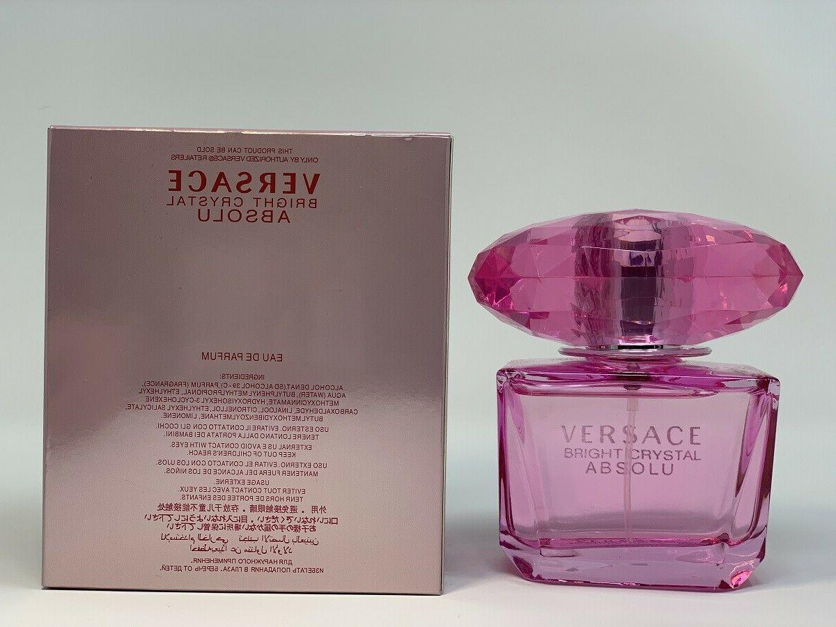 Versace Bright By 3 EDP Spray For