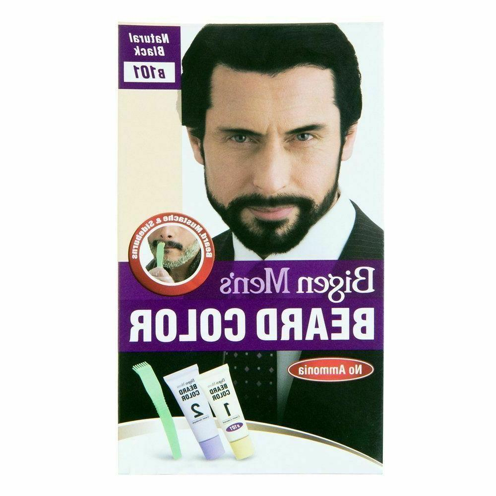 Bigen Color For Men's Beard & Moustache B 101 Natural Black