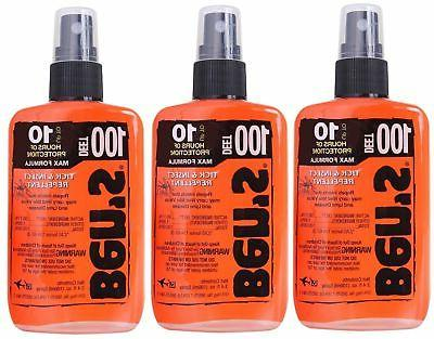 Ben's 100% DEET Mosquito, Tick and Insect Repellent, 3.4 Oun