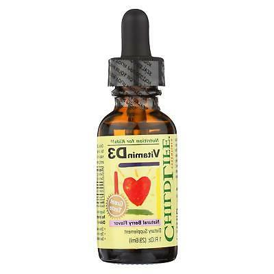 ChildLife Essentials - Vitamin D3 Mixed Berry 1 ounce