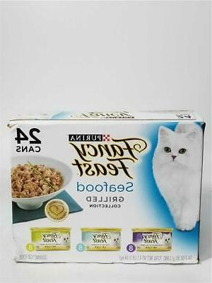 fancy feast grilled seafood feast collection cat
