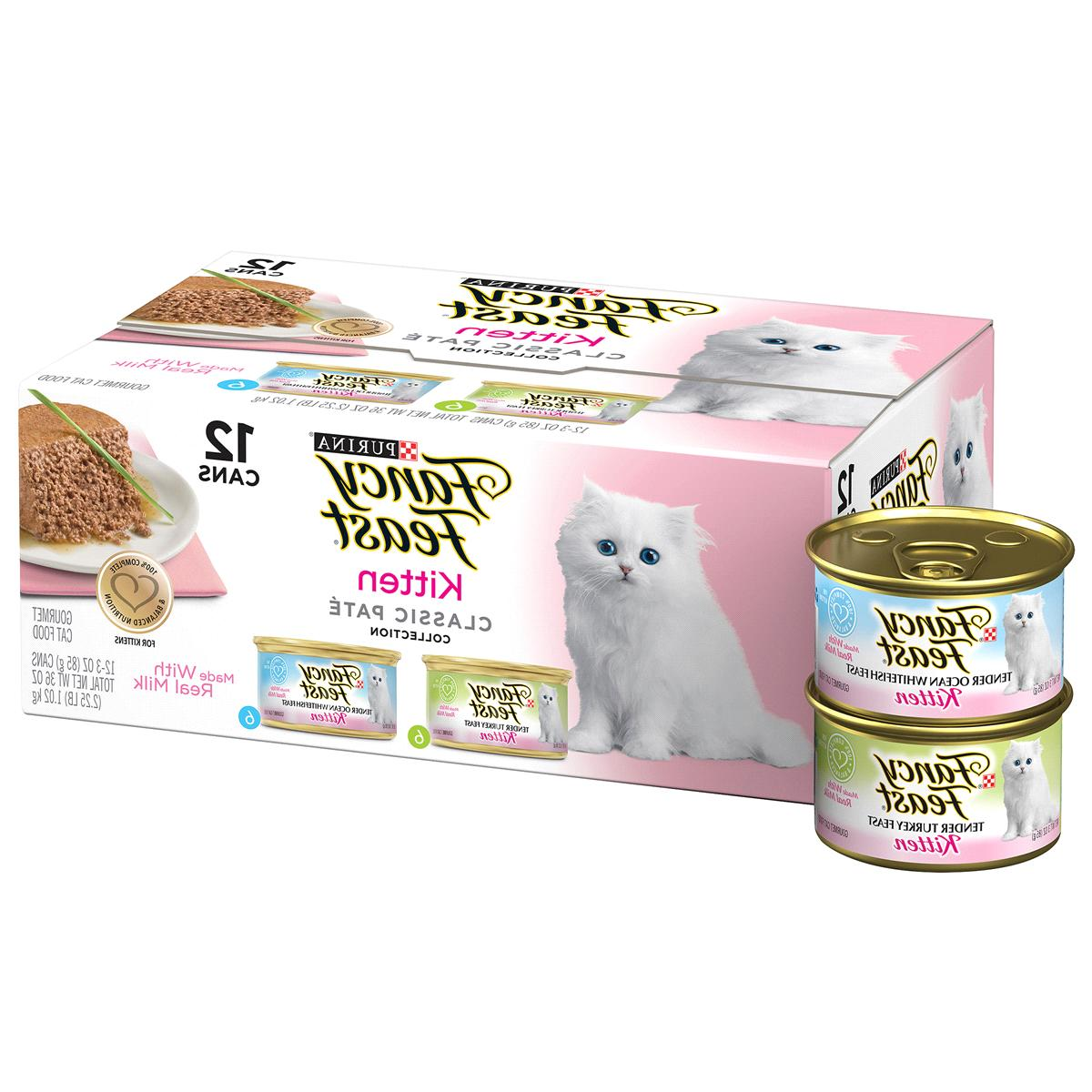 fancy feast kitten classic pate collection cat