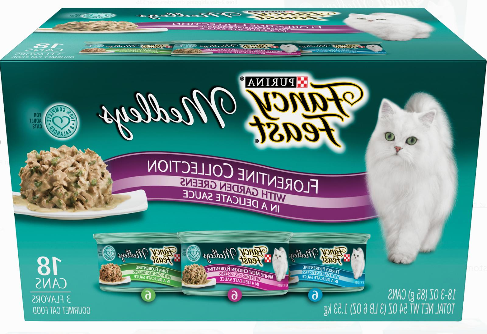 fancy feast medleys florentine collection wet cat