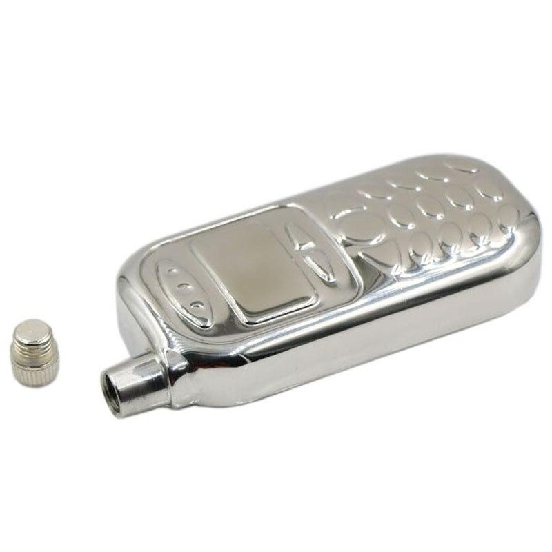 <font><b>3</b></font> <font><b>oz</b></font> stainless steel whiskey drink Flask with wisky