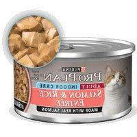 Pro Plan Adult Indoor Salmon & Rice Entree Canned Cat Food 2