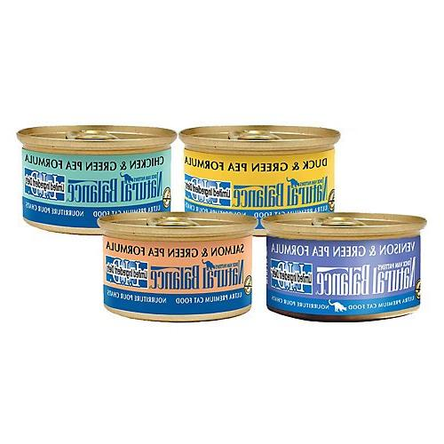 Natural Balance LID Canned Cat Food 24 Pack Duck