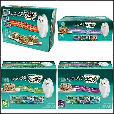 Purina Fancy Feast Medleys Adult Wet Cat Food Variety Pack F