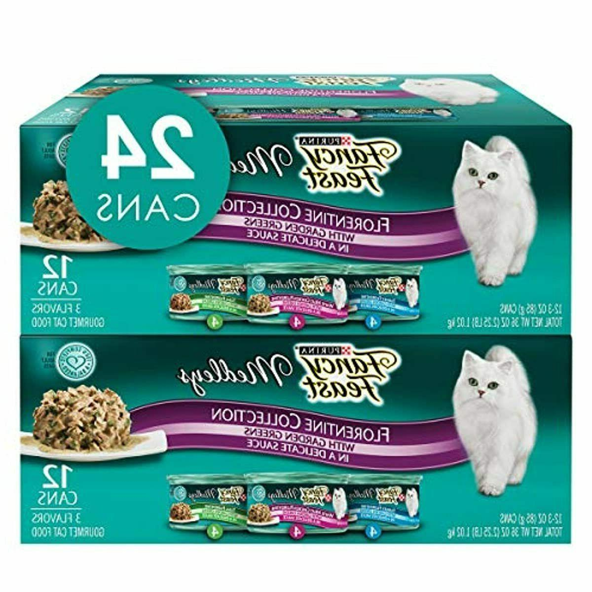 Purina Fancy Feast Medleys Adult Wet Cat Food Variety Pack,