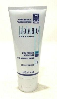 Obagi Nu-Derm 3 oz sunscreen lotion healthy skin protection