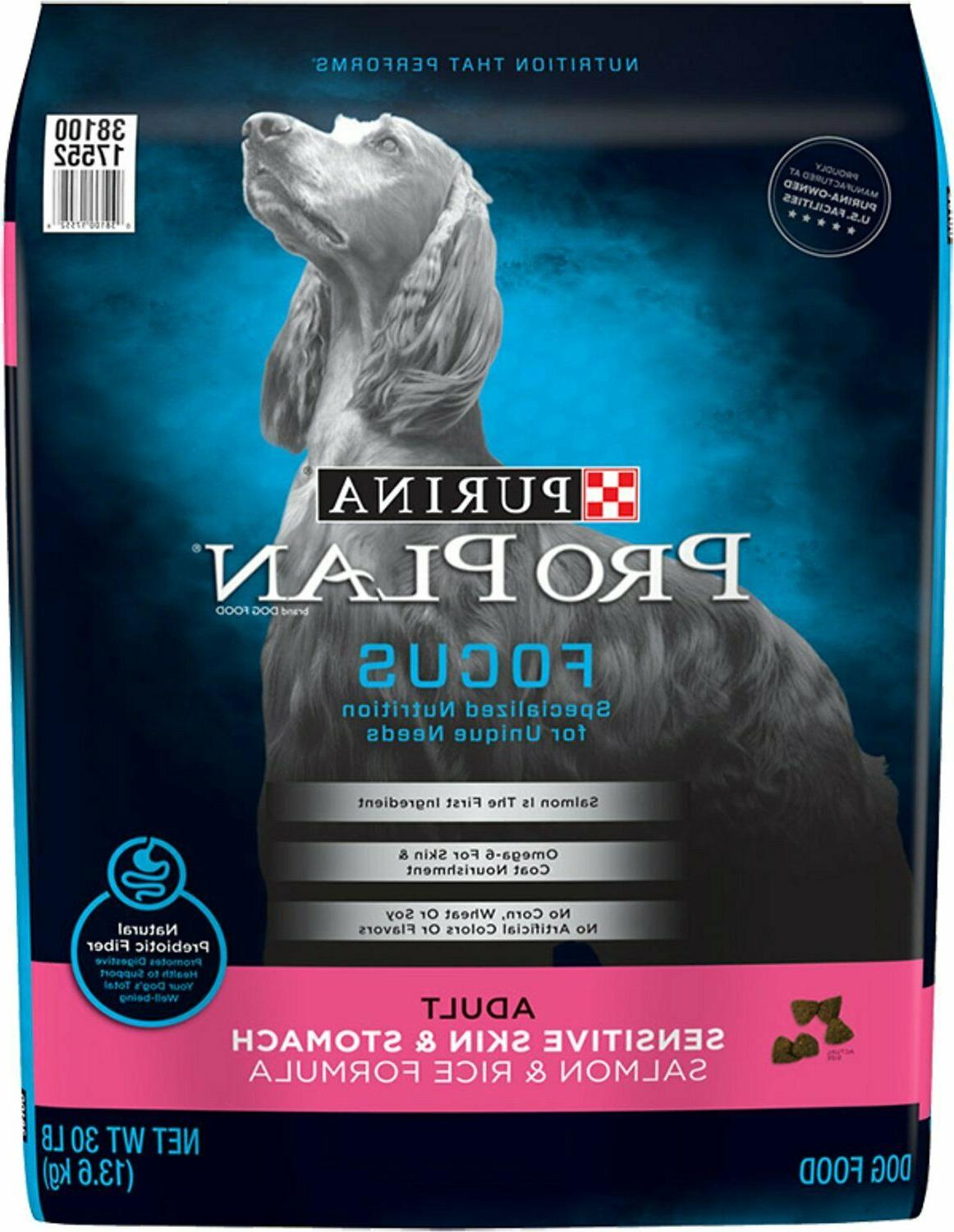 purina focus adult sensitive skin and stomach