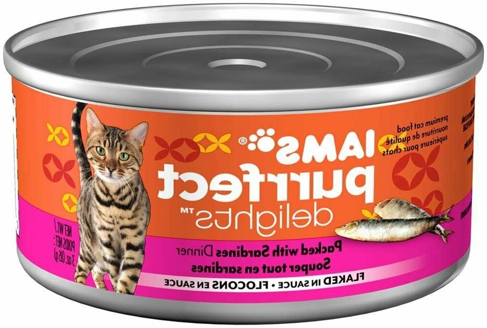 Iams Delights Adult Cat Seafood, 3 PC