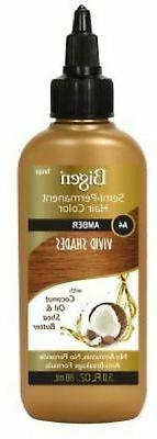 Bigen Semi Permanent Hair Color #A4 Amber, 3 oz