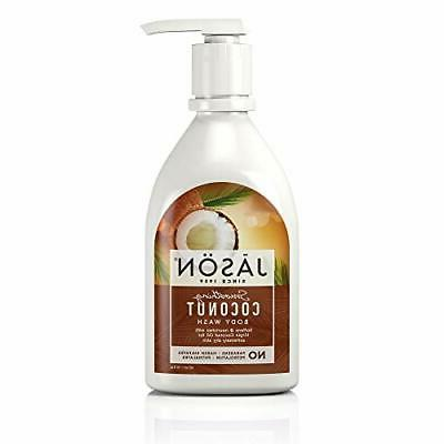 Jason Smoothing Coconut Body Wash - Coconut - 30 oz