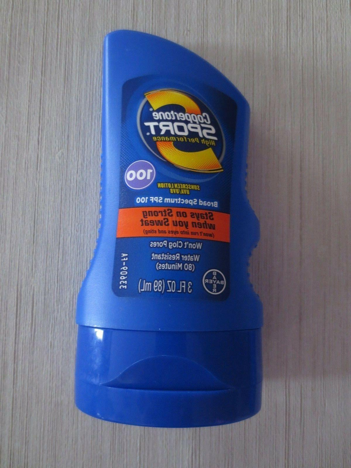 COPPERTONE SPORT SPF 100 - 3 OZ - CHOOSE QUANTITY