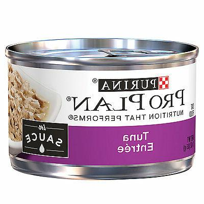 Pro Plan Adult Tuna Entree In Sauce Canned Cat Food 24 - 3oz