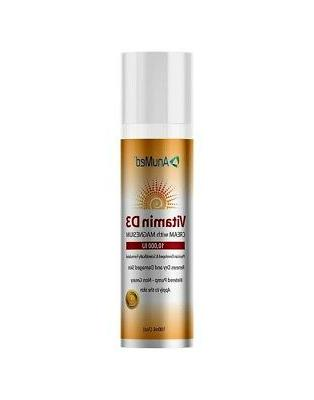Vitamin D3 AnuMed Intl 3 oz Cream