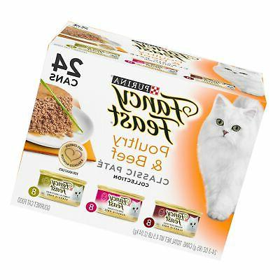 Purina Fancy Feast Classic Pate Poultry & Beef Collection We