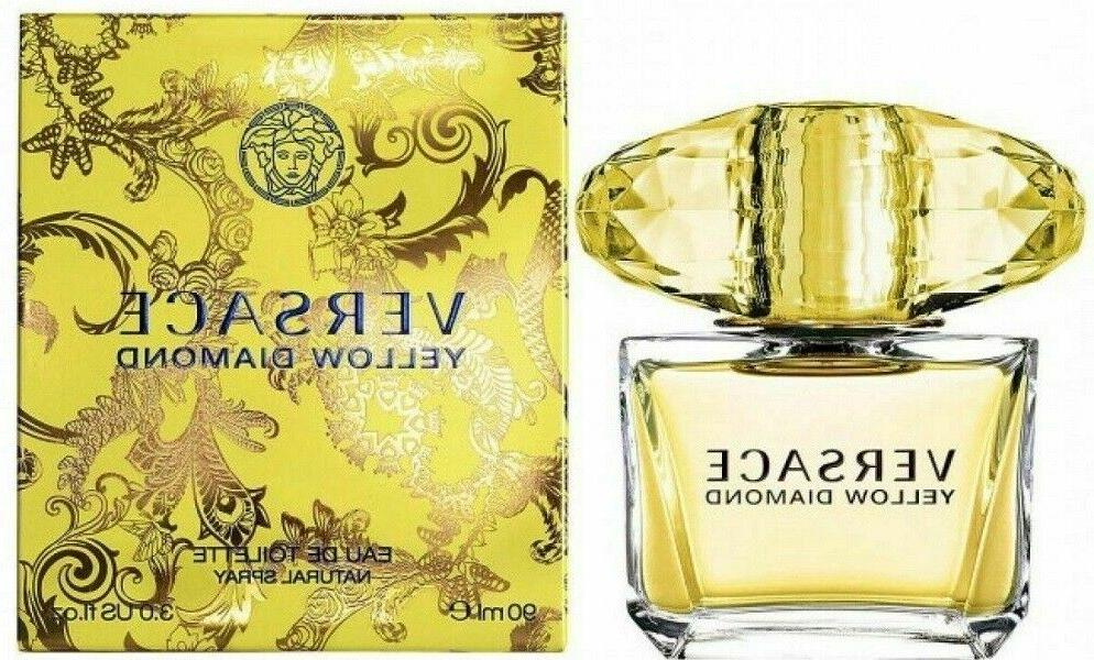 Versace Yellow Diamond 3.0 oz / 3 oz EDT Spray Perfume For W
