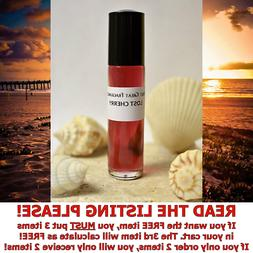LOST CHERRY Unisex 1/3oz Roll On PERFUME BODY OIL : STRONG -