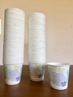 LOT of 144 VINTAGE DIXIE Bathroom Refill Paper Cups 3 oz NEW