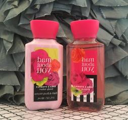 Bath & Body Works Mad About You Body Lotion & Shower Wash Ge