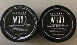 American Crew Men Heavy Hold Pomade 3oz Heavy Hold with High