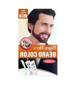 Bigen Men's Beard Color Dark Brown B103 Shade No Ammonia