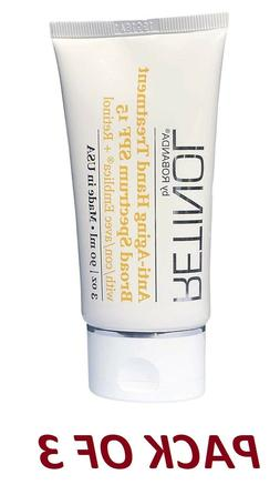 New Retinol by Robanda Anti-Aging Hand Treatment Broad Spect