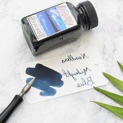 Noodlers Midnight Blue 3oz Fountain Pen Ink Bottle