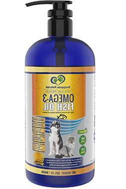 Omega 3 Fish Oil For Dogs and Cats - Wild Icelandic Pure, Na