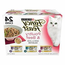 PPurina Fancy Feast Grilled Poultry Beef Collection Cat Food