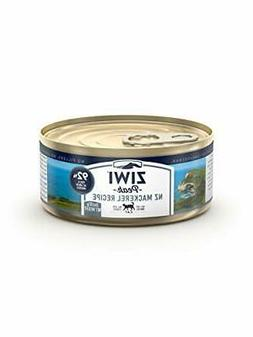 ZIWI Peak Canned Mackerel Recipe Cat Food Case of 24 3 oz. E