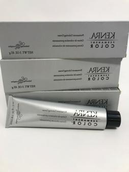 Kenra Permanent Hair Color 3 Oz Tube - Choose Your Color!