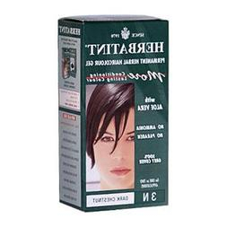 Herbatint 3N Permanent Herbal Dark Chestnut Haircolor Gel Ki