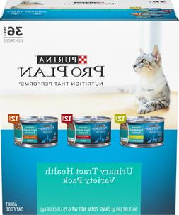 Purina Pro Plan Urinary Tract Health Variety Pack Canned Cat