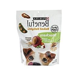 Purina Beneful Baked Delights Snackers Dog Snacks 9.5 oz. Po