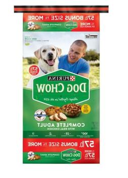 Purina Chow Complete Adult Chicken Dry Dog Food REAL CHICKEN