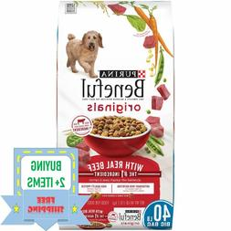 Purina Beneful Originals With Real Beef Adult Dry Dog Food -