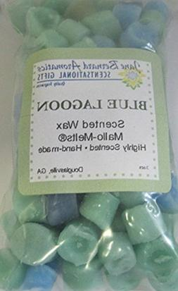 BLUE LAGOON Scented Hand Made Candle Wax Tart Melts For all