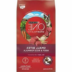 Purina One Smartblend Natural Small Bites Beef & Rice Formul