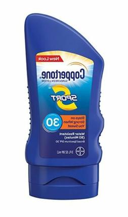 Coppertone Sports Sunscreen SPF 30 Lotion 3oz Each