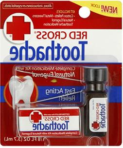 Red Cross Toothache Medication, 1/8-Ounce Bottles