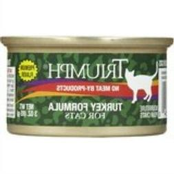 Triumph Turkey Canned Cat Food, Case Of 24, 3 Oz.
